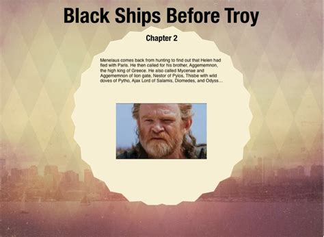 themes in black ships before troy black ships before troy screen 3 on flowvella