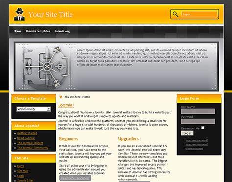 free templates 187 joomla 1 7 x 187 web security joomla 1