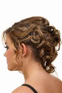 Steckfrisuren F 252 R Mittellanges Haar