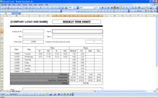 weekly timesheet template excel time sheets excel templates