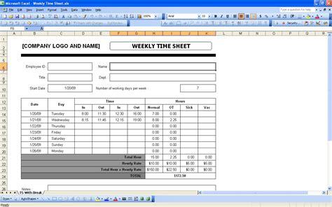 weekly timesheet template tvsputnik tk