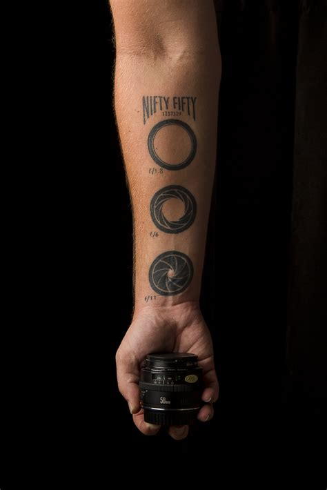 8 cool photography tattoos