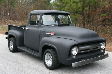 old ford cars 56 f100 like the concept flat black paint cars