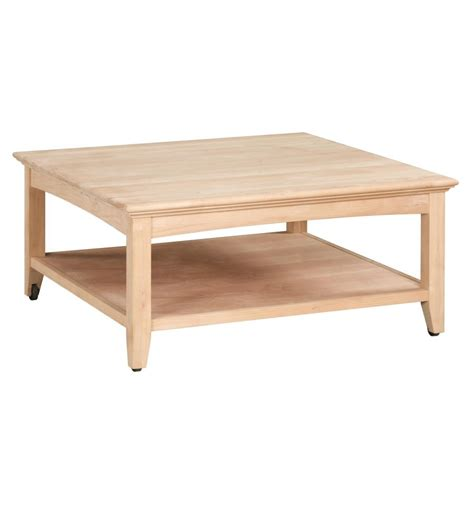 40 inch square coffee table 40 inch square cocktail tables bare wood