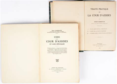 2711025055 la pratique de la cour code de la cour d assises bruxelles 1931 paperback en