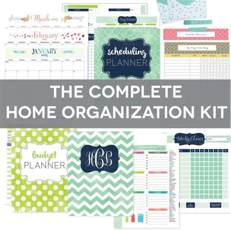 Home Management Binder Printables