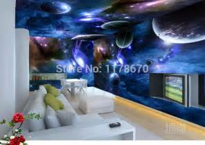 Galaxy Themed Bedroom Wallpaper Galaxy Promotion Online Shopping For Promotional