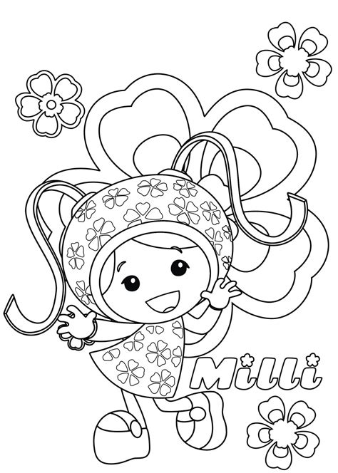 coloring pages to print free printable team umizoomi coloring pages for