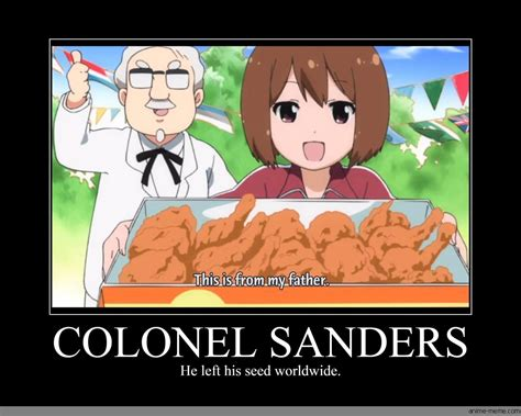 Colonel Sanders Memes - colonel sanders anime meme com