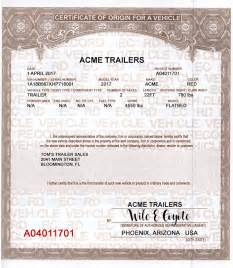 certificate of origin for a vehicle template 12 mso mco vehicle forms bikes trikes rods trailers