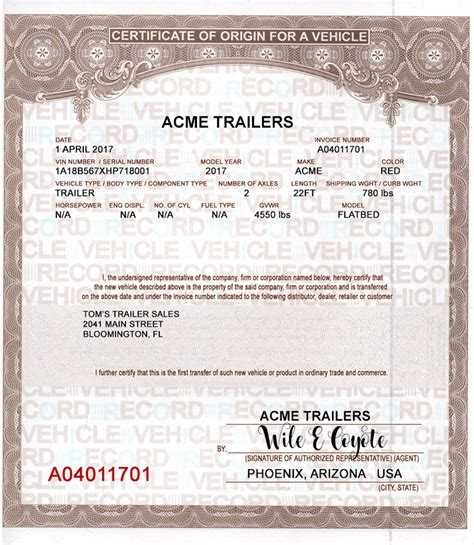pa boat license replacement buy mco mso manufactures certificates of origin