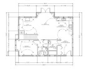 Floor Plan Dimensions Floor Plan 3 Bedroom 2 Bath Home Floor Plans