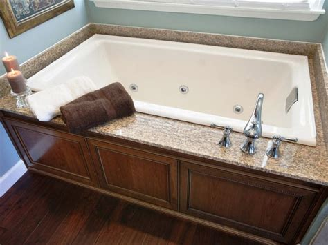 bathtub deck ideas run my renovation a master bathroom that you helped design