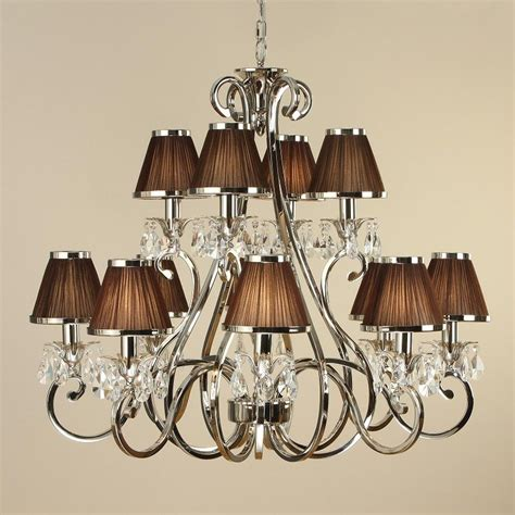 Chandelier With L Shades Chandelier L Shades Uk Elstead Lighting Feiss Clarissa 5 Light Chandelier With L Amour 4
