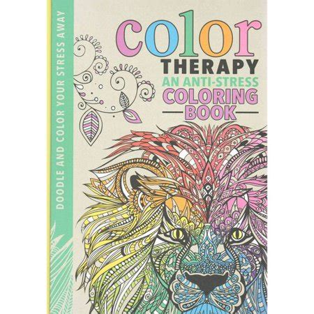 walmart coloring books color therapy coloring book an anti stress coloring