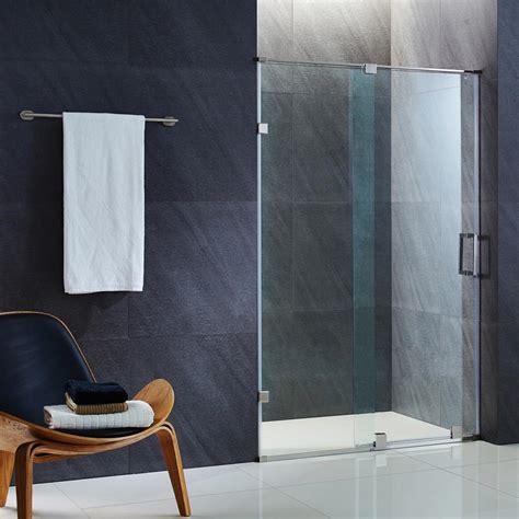 Vigo Elan 60 In X 74 In Frameless Bypass Shower Door In Vigo Glass Shower Door