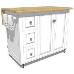 mobile kitchen island plans best 25 mobile kitchen island ideas on pinterest