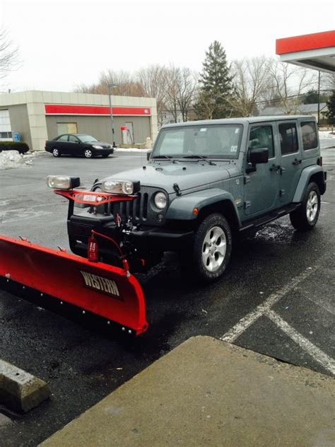 jeep wrangler plow aftermarket front bumper for my 2014 jeep wrangler w