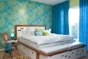 Lime Green Duvet Cover Lime Green And Blue Modern Bedroom Decorating Ideas