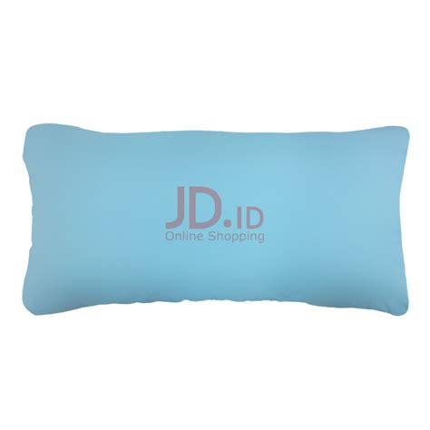 Guling Nama Colour jual the luxe pillow blue jd id