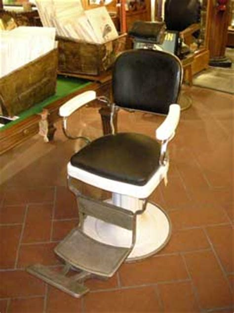 sedie barbiere antiche poltrona da barbiere modello antiquariato