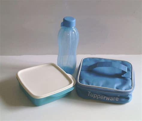 Jual Tupperware Botol by Jual Tupperware Paket Biru A Lolly Tup Tas Botol Eco