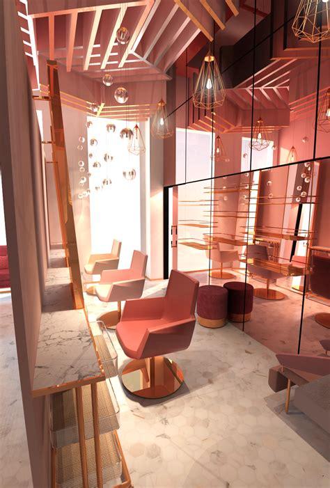 tulimond pink confessions salon interior nail salon