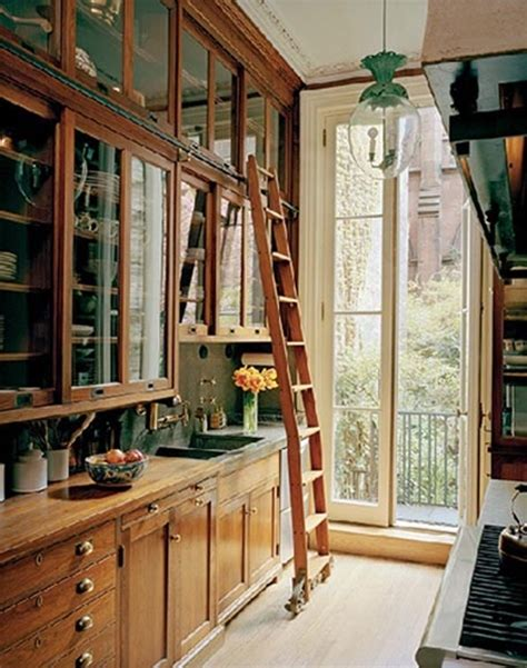 Kitchen With A Ladder Kitchen Library With Ladder Kitchens