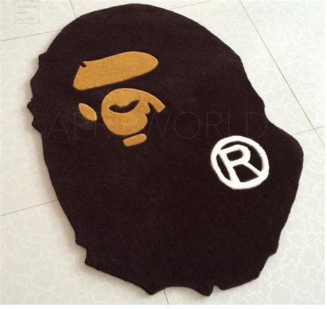 bathing ape rug fashion a bathing ape door mat floor mat doormat bape carpet rug monkey home decoration in