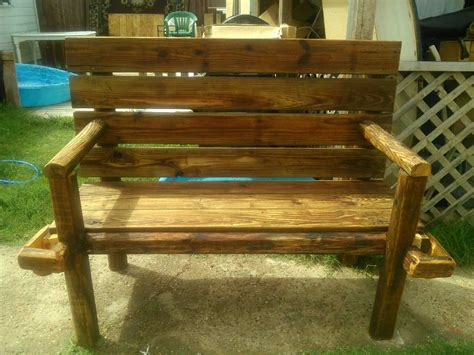 western style benches letgo western style wooden bench with c in amarillo tx