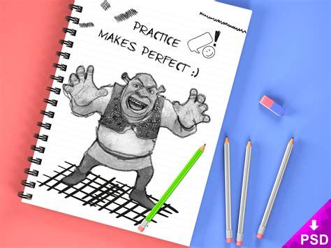sketch mockup book free 21 fantastic psd sketch book mockups for free