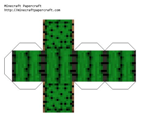 Cactus Papercraft - papercraft cactus