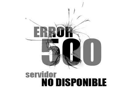 errore interno error interno servidor