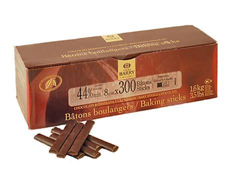 Tulip Chocolate Batons 52 1 5kg farinex chocolat chocolat noir produits