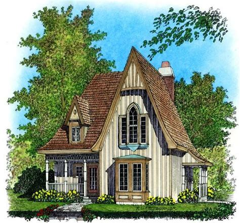 European Cottage House Plans | european house plan 86045