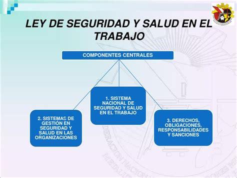 ley del trabajo en venezuela y la seguridad y salud laboral ppt peru la seguridad y salud en el trabajo ley 29783