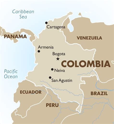 south america map colombia colombia vacations tours travel packages 2018 19 goway
