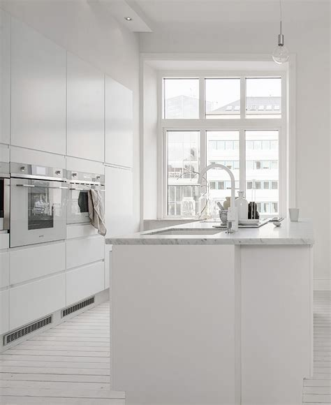 all white kitchen decordots all white living