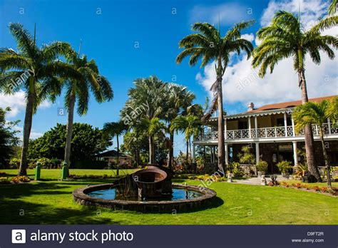 Botanic Garden Mansion Historical Mansion In The Botanical Gardens On Nevis Island St Stock Photo Royalty Free Image