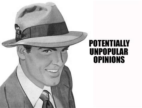 Bildergebnis für unpopular poinion