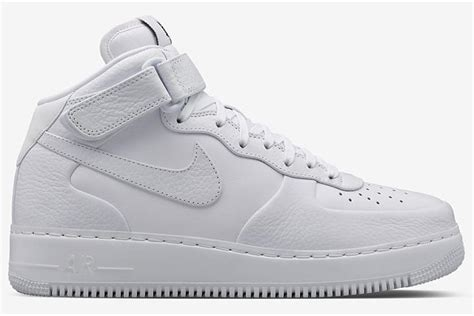 buy air 1 white mid and white nike air ones shoes discount for sale