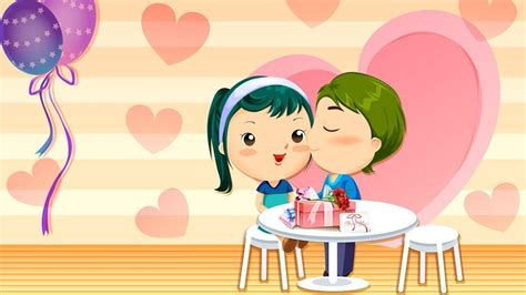 cartoon wallpaper about love love cartoon wallpapers wallpaper cave