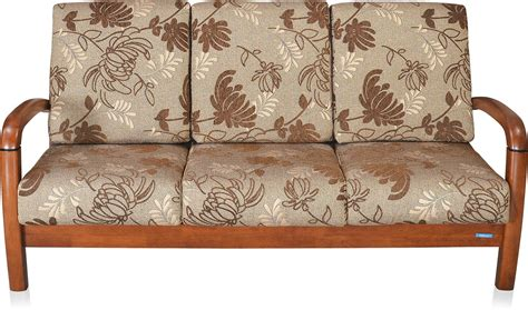 Nilkamal Rockford Fabric 3 Seater Sofa Price In India