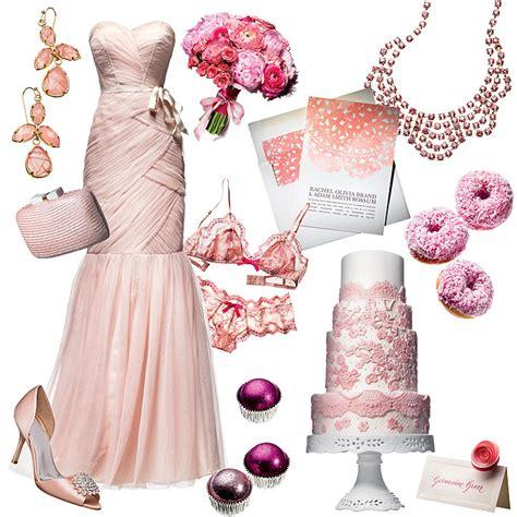 wedding color scheme pale pink with fuchsia wedding style brides brides