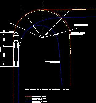 truck templates for autocad vehicle turning radius dwg vehicle ideas