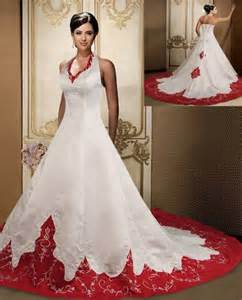 Re abold bride and want to stand out consider a red or green dress