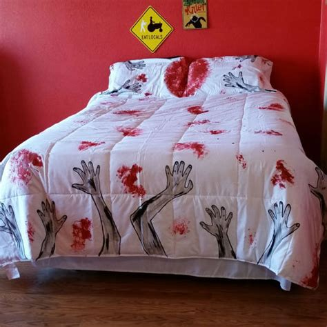 zombie comforter set zombie bedding shut up and take my money