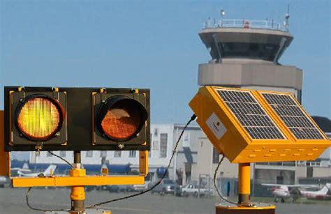 Solar Powered Runway Lights Raf St Jean