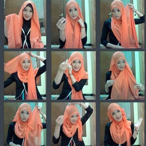tutorial berhijab remaja cara memakai hijab modern untuk remaja terpopuler
