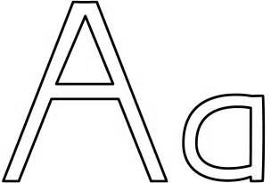 color letter a letter a coloring page alphabet